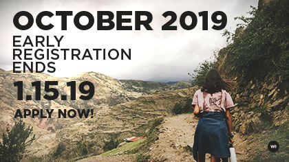 World Race October 2019 - Early Registration ends 1/15/2019